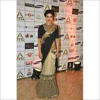 Designer sarees with border