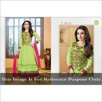 Parrot Green Anarkali