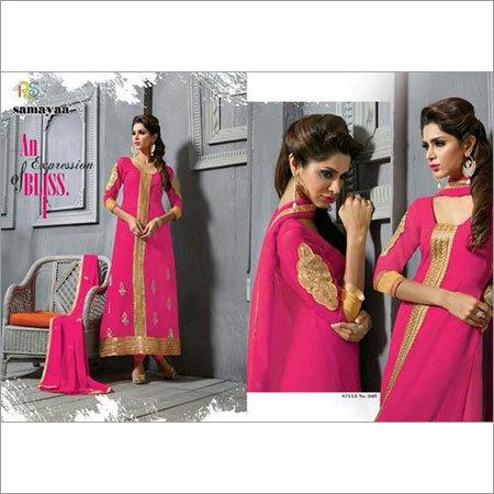 Pink Designer Anarkali