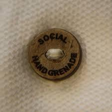 Brand Name Coconut Shell Button