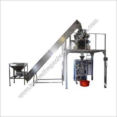 Automatic Collar Type FFS with Multihead Weigher