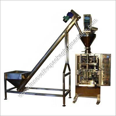 Automatic Collar Type FFS Machine with Auger Filler