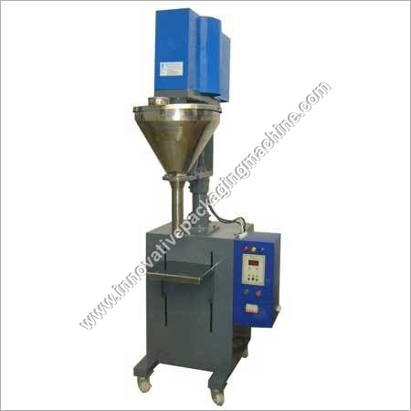Auger Filler Semi Automatic Machine