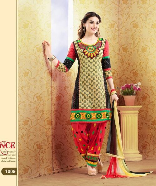 1009 cotton salwar suit