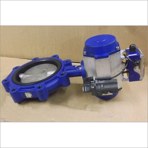 Pneumatic Actuator Butterfly valves