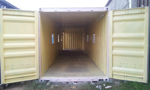 Used Container Fabrication & Modification Service