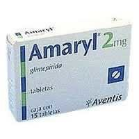 Amaryl Tablet (1,2 & 3 mg)
