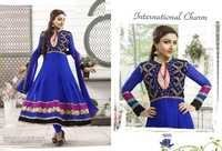 Bollywood Anarkali Suit Blue Color -18005