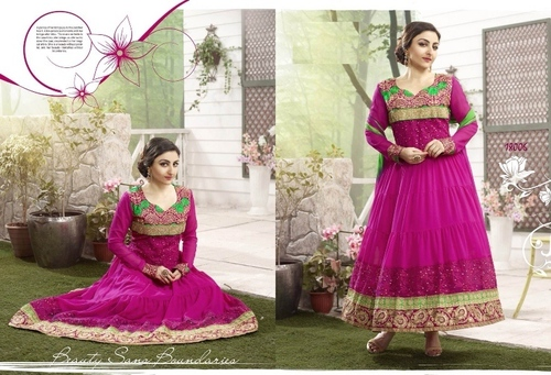 Pink Color Anarkali Suit-18006