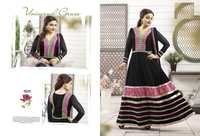 Black Color Anarkali Suit -18009