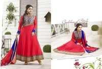 Red Color Anarkali Suit -18011