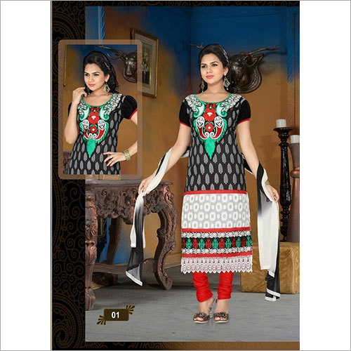 Multi Color  cotton salwar suit