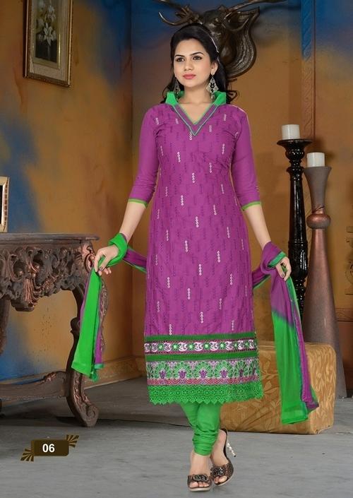 Purple Color Suit Anarkali -06