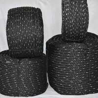 Black Braided Rope