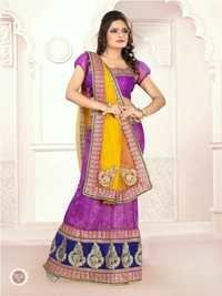 Embroidered Anarkali Dress