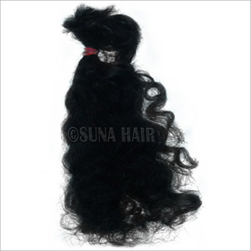 5A natrual remy virgin beautiful silky curly weft human hair