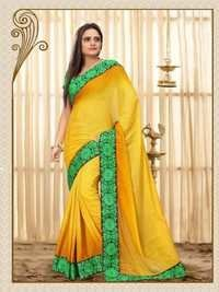 Orange Color Saree  -18001-B