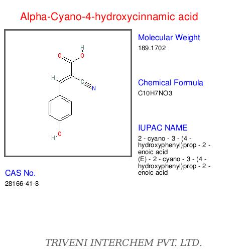 Alpha Cyano 4 Hydroxycinnamic Acid