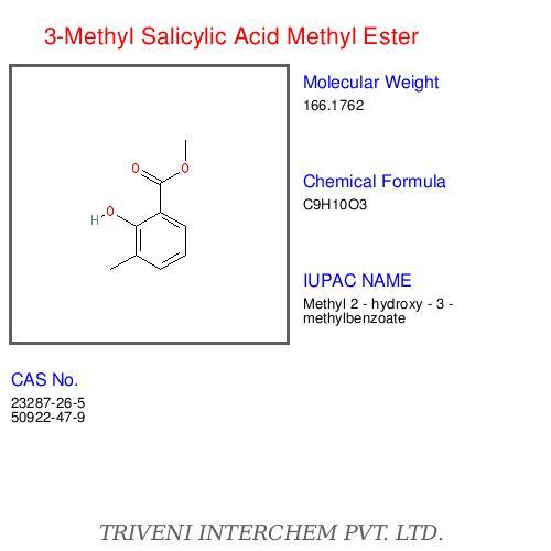 3 Methyl Salicylic Acid Ester