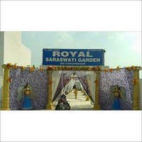 Wedding Entrance Fiber Gates