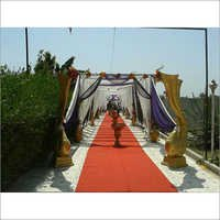 Wedding Mandap Fiber Pillars