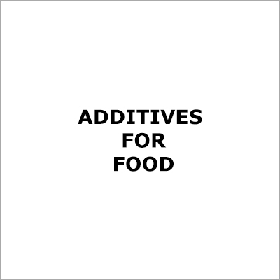 Food Additives