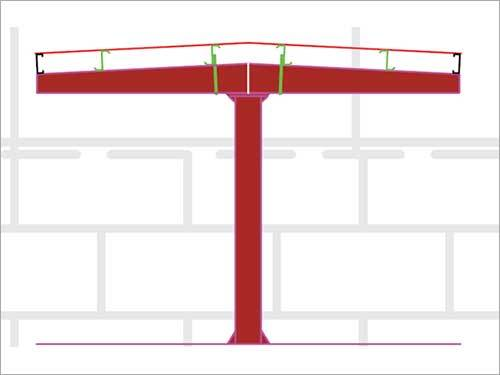 Primary Framing System of Lift Crane