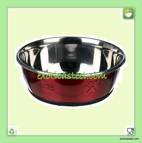 Anti Skid Pet Bowl - Multi Design