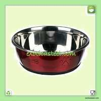 Anti Skid Pet Bowl - Multi Design