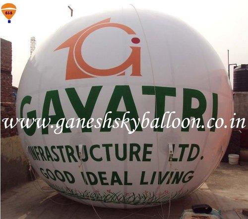 Hydrogen Gas Balloon for Advertisement