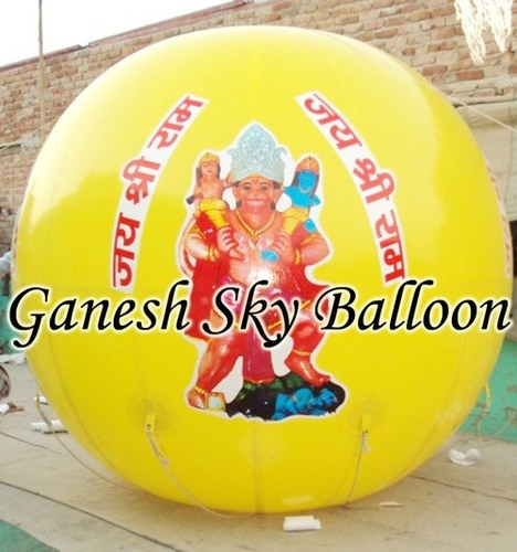 Helium Gas Balloon for Advertisement