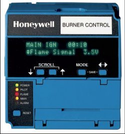 Honeywell EC/RM 7800 Series Burner Control