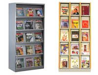 Wooden Display Storage