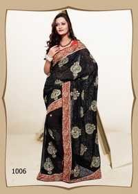 1006- Black Color Saree