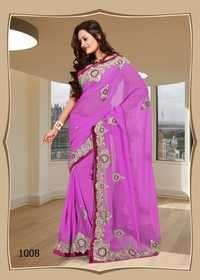 1008-Pink Saree Awesome
