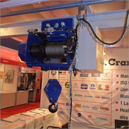 Industrial Wire Rope Hoist Driven Lift