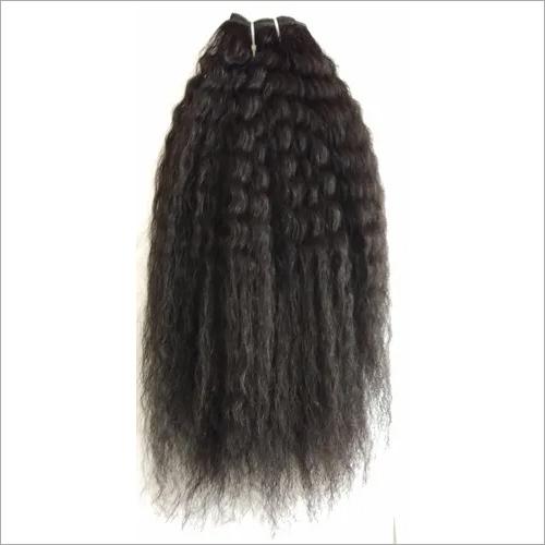 Processed Kinky Straight hair,brazilian hair weft kinky straight human hair extension