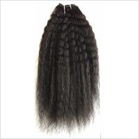 Processed Kinky Straight hair,brazilian hair weft kinky straight human hair extension