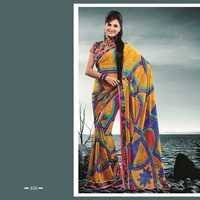 Orange Color Saree 358-B