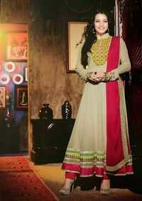 Fancy party wear anarkali salwar kamiz