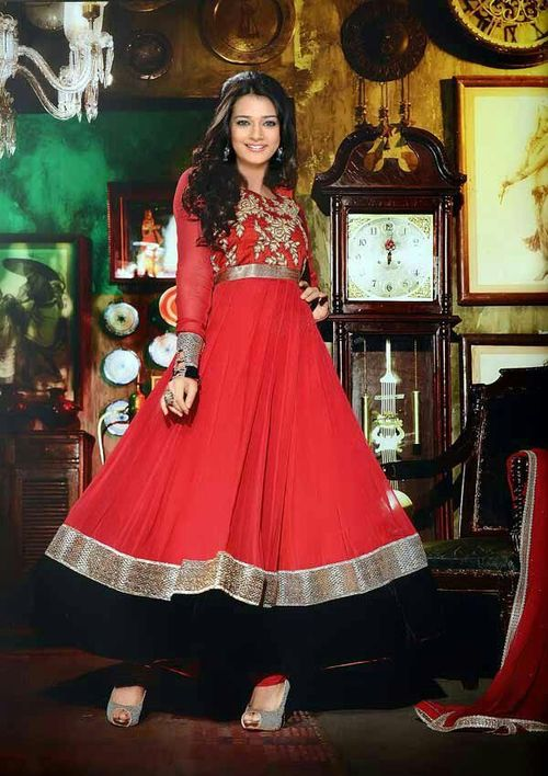 Indian Exclusive party wear Anarkali suit