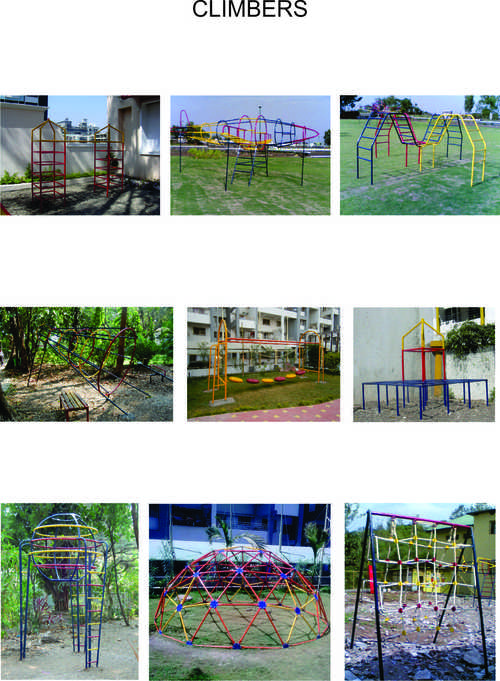 Outdoor Play Climbers