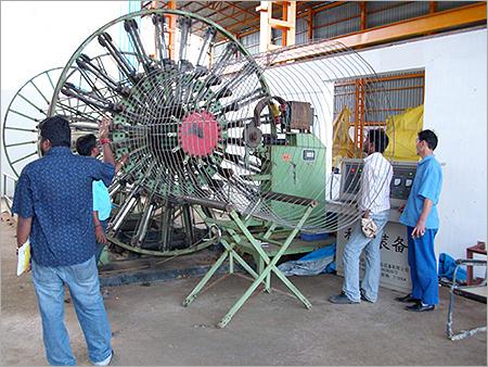 Steel Wire Cage Welding Machine