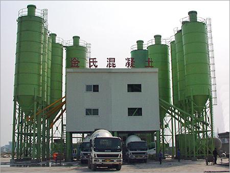 Concrete Pipe Batching Plant