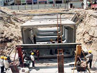 Concrete Box Culvert Making Machine