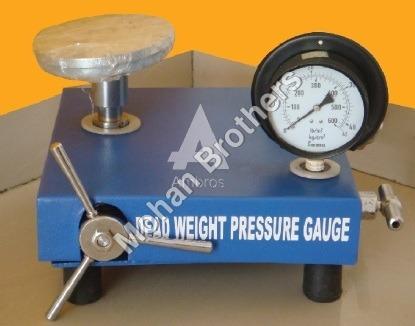 Dead Weight Pressure Gauge Tester