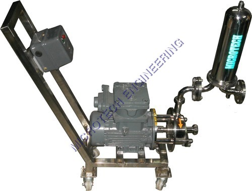 Sanitary  Filtration  Pump