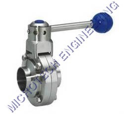 BUTTER FLY VALVE WELDABLE