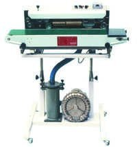 Continous Pouch Sealer With Air Filling
