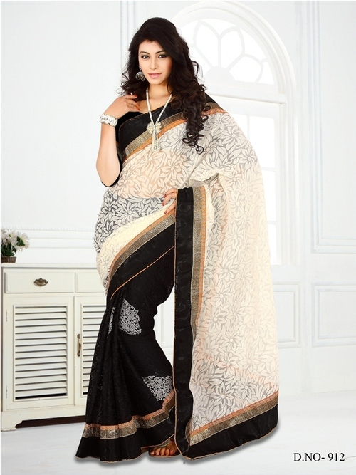 Black Color Saree -912